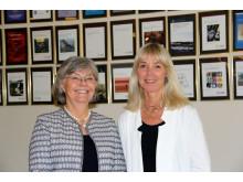 Marie Birge Rönnerfält och Eva Norman - författare till boken Reflektion som arbetsutveckling