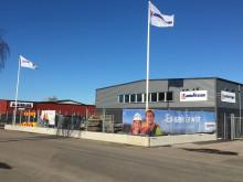 Lambertssons nya depå i Varberg