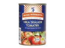 Hela skalade tomater