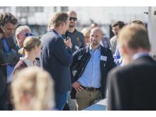 Första spadtag-ceremoni World Trade Center Helsingborg