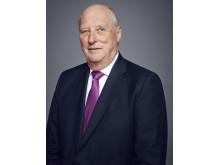Hans Majestet Kong Harald. Foto: Jørgen Gomnæs, Det kongelige hoff.