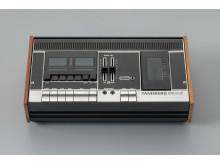Ekstrøm. Møbel- og industridesign.Kasettspiller TCD 300, Terje Ekstrøm,Tandberg radiofabrikk, 1972