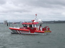 Image - Fischer Panda UK - AMC's latest high-performance fire-fighting vessel, named Barracuda