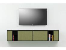 Frislev AV-møbel med Loewe Compose TV