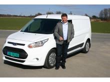 Johnny Løvli er ansatt som ny salgssjef for nyttekjøretøy hos Ford Motor Norge
