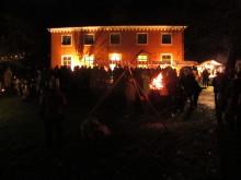 Ljus- och eldfest i Karlslund