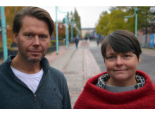 Mikael Sjödahl, professor i experimentell mekanik och Kerstin Ramser, professor i experimentell mekanik vid Luleå tekniska universitet