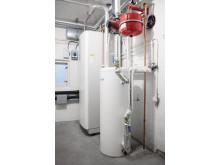 Luft-vann-varmepumpe