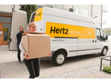 Transportbilar hos Hertz