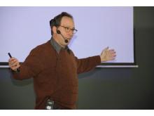 Professor Lawrence Krauss föreläser i Nacka