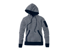 Musto Stripe Knit Hood Navy