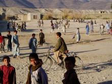 Skolgård, Afghanistan