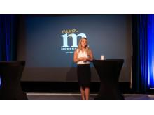 Jessica Rosencrantz  trafikpolitisk talesperson för Moderaterna talade på Stora Nolia