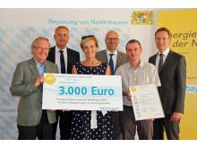 Preisverleihung Bürgerenergiepreis Niederbayern 2017_Schule Abensberg