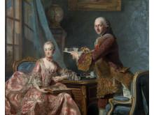 Alexander Roslin, Dubbelporträtt, 1754, Göteborgs konstmuseum