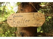 unterwegs entdeckt: Abstecher zum Kaffee - Kurt