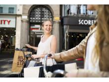 Shoppingen i Malmö city går framåt
