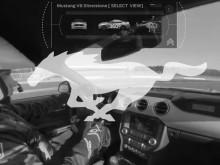 Ford Mustang Silverstonen kilparadalla