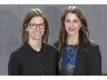 Evelina Strandfeldt och Linda Kjällén