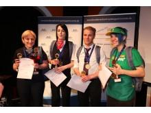 Das Siegerteam des 9. Teamcups der Systemgastronomie
