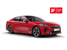 Kia Stinger får pris i 2018 iF Design Award