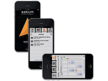 iPhone-appen Barium Business Navigator