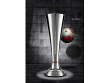 The trophy for the 2015 Audi Cup winner