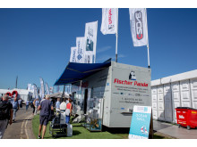 Hi-res image - Fischer Panda UK - Fischer Panda's display trailer at Southampton Boat Show