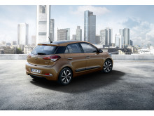 Nya Hyundai i20 - bak