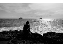 Ensam båtflykting