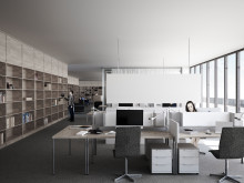 Office space - The New National Museum, Oslo, Norway
