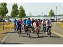 Fahrradtour zum Störmthaler See