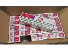 SE 16.16 Cigarette smuggling attempt crumbles at border
