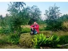 Johan Ekenberg bygger ny kursgård i Värmland