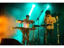 Spelning under förra årets upplaga av Gather Music Festival