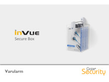 Varularm från Gate Security - Secure Box, InVue