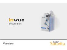 Varularm från Gate Security - Secure Box, InVue