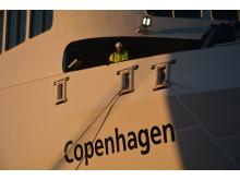 """Die """"Copenhagen"""" geht auf Probefahrt"""