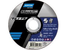 Norton Quantum - Cutting-off wheel Ultimate Technology