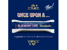 Barebells Blueberry Cake Protein Bar