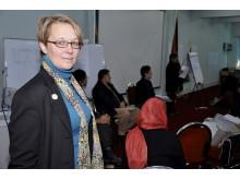 Anna-Karin Johansson ny GS Svenska Afghanistankommittén