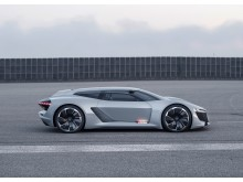 Audi PB18 e-tron (Circuit grey) side