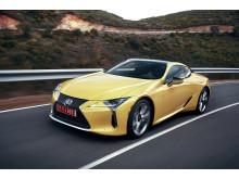 Lexus nya lyxkupé LC 500