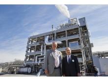 Lars Stigsson, Kiram samt Yoshihiro Hasegawa CEO Harima Chemicals