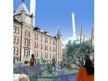 Redareparken på Skeppsbron