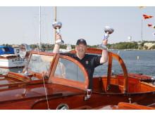 Birger Lilja, ordförande i Carlscrona Veteranbåtsklubb.