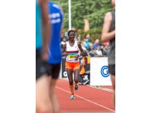 Isabellah Andersson - svensk mästare halvmaraton 2016