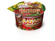 Safari müsliyoghurt med jordbær