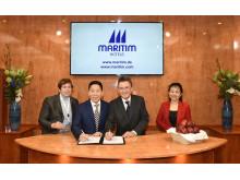 Maritim Hotel Stettin Signing
