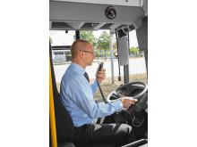 Dräger alkolås IL7000 i buss